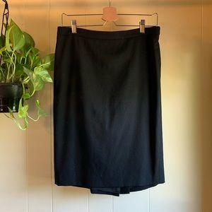 LOFT | Black Pencil Skirt